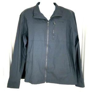 Orvis Men's Jacket Gray Windbreaker XXL 2XL